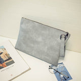 bag leather women envelope