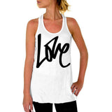 LOVE Letter Printed tank tops