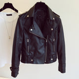 Leather Jacket Faux Soft Leather