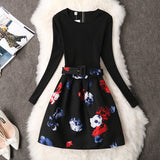 Dress Autumn Casual Brand Winter