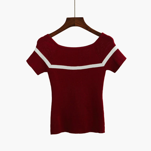 Knitted Women T shirt