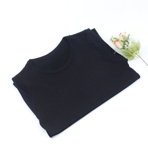 Knitted Short Sleeves T Shirt RI