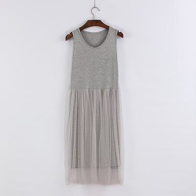 Dress Woman Spring New Sleeveless