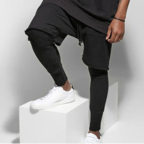 Pants Men Fitted Long