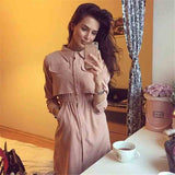 Dress Women Autumn  Elegant