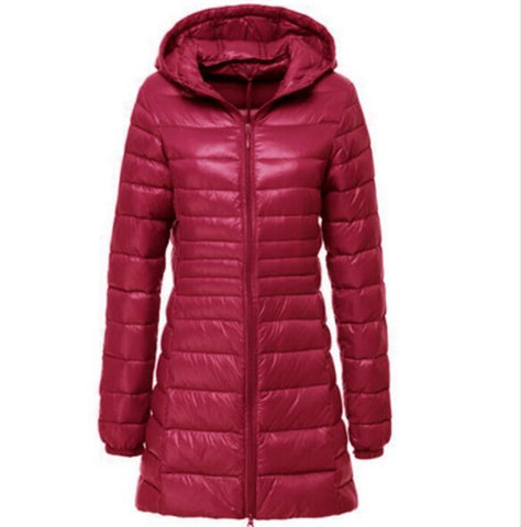 Jacket Coat Parkas Long Hooded