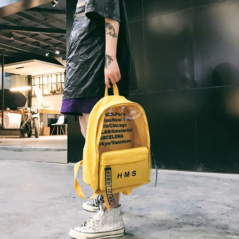 Harajuku Letter Backpacks Bags SE d92aeff966