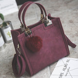 bag women shoulder  high quality leather