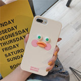 Korean Cartoon Brunch Brother Cute Yellow Duck Phone Case SE