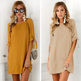 dress women Autumn Summer Sundress kasual Wear Office