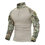 T Shirt Military Men Long