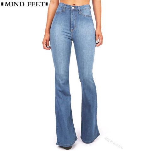 High Waist Wide Leg Jeans RI