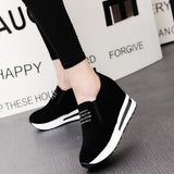 shoes women Spring breathable creepers casual
