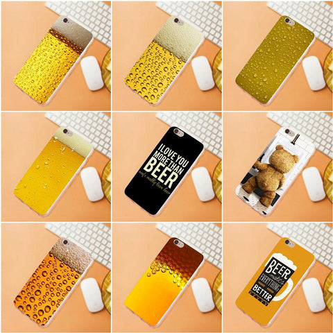 Summer Beer For Huawei G7 G8 Honor 5A 5C 5X 6 6X 7 8 V8 Mate 8 9 P7 P8 P9 P10 Lite Plus Soft Case Accessories