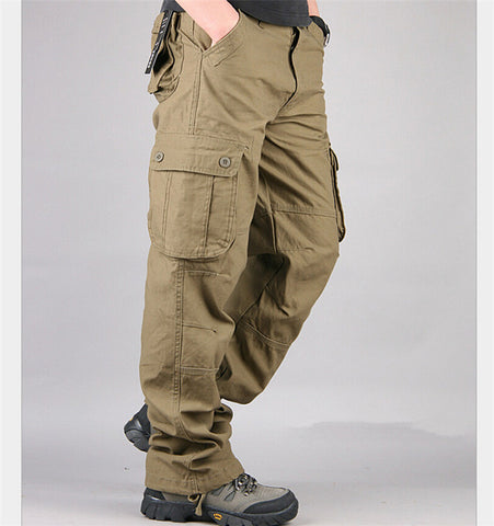 Pants Multi Pocket Military men