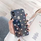 Daisy Flower Love Heart Clear Phone Case RI