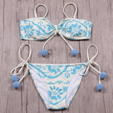 Bikini Swimsuit Female Bandeau
