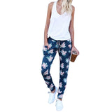 Pants Sportwomen Flower