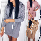 Pockets Hoodie Dress SE