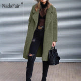 Long Fur Coat  Teddy Coat Outerwear PU22