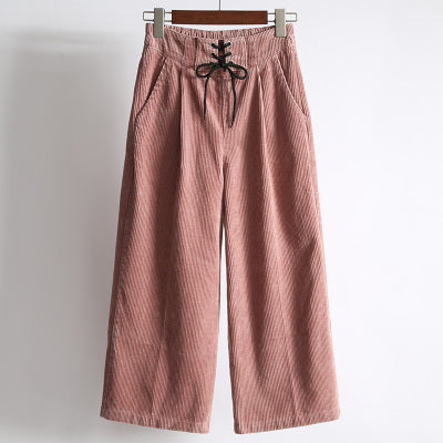 Loose Ankle-Length Pants