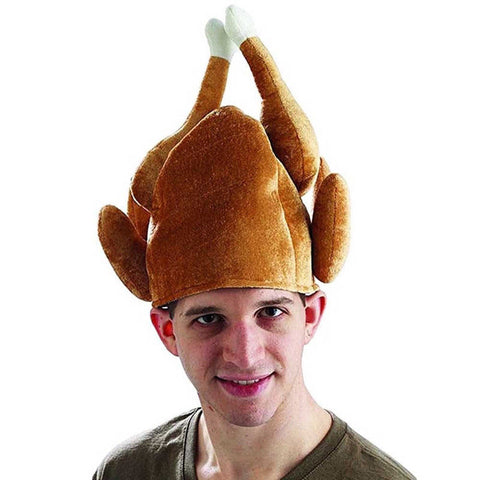 Funny Roasted Turkey Festival Costume Caps Hat SE