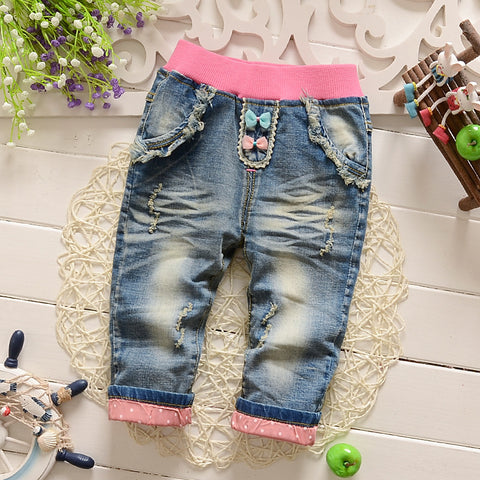 Pants  Cartoon Lovely Jeans