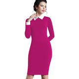 Dress Women Autumn Work   Elegant Business