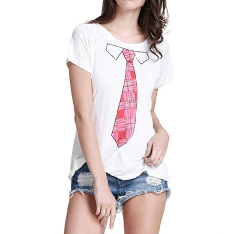 Pink Ties T Shirt  wm001