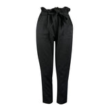 pants casual New black