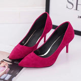 Shoes Pointed Toe Pumps Patent Leather