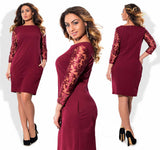 dress New Fashion Party Long Sleeve Bodycon