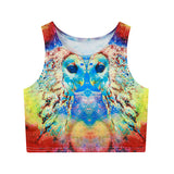 funny cat/panda/dragon/llama tank top
