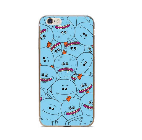 Rick And Morty Phone Case Cover For iPhone 7 Plus 6S 6 Plus 5S 5 SE ... 0712210ce40
