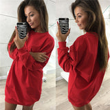 Dress Women Spring Long Sleeve Vestidos