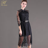 Dress Women Half Sleeve