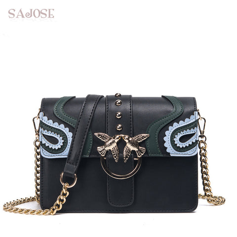 Bag Woman chain Fashion Leather