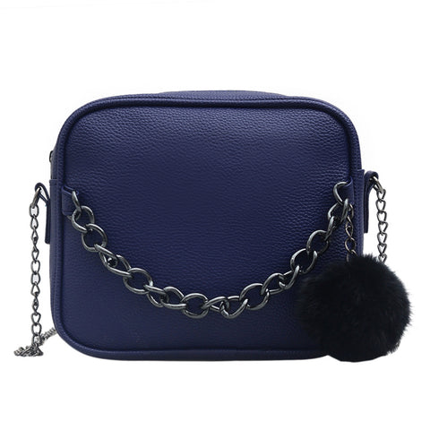 Small Chain Bag Leather