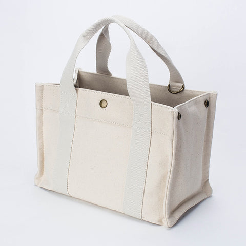 casual canvas handbag women tote bag RI