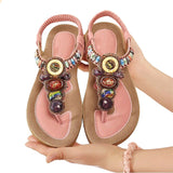 Shoes Gemstone Slippers Summer Beach
