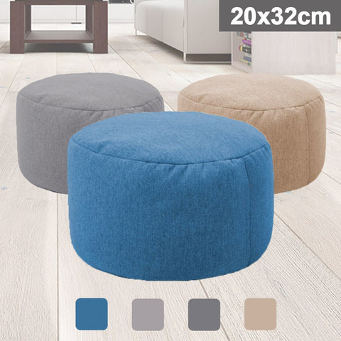 Small Round Beanbag Sofa Waterproof Gaming Bed Chair Seat SE