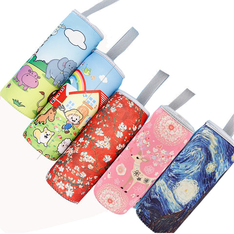 Sport Water Bottle Cover Case Insulated Bag Cup Pouch SE