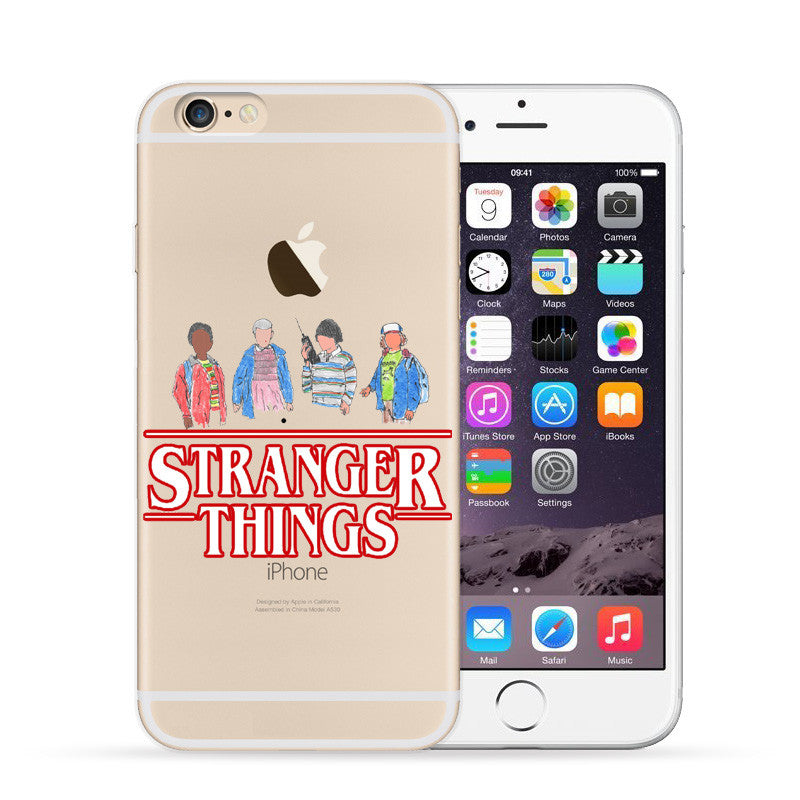 premium selection ee6f2 d5212 Stranger Things Christmas Lights Case For iphone 7 7Plus 6S 8 Plus X 5S SE  Soft silicone TPU Phone Cases Back Cover Fundas Capa