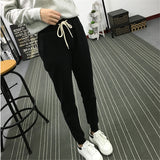 Pants leisure Soft Drawstring