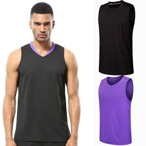 82fa7b03eabda5 Tank Tops Brand Breathable Quick-drying