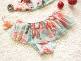 bikini swimwear girls children baby girl swimwear