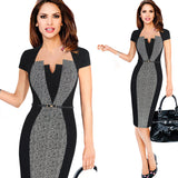 dress Women Elegant Office Business Party
