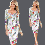 dress Womens Elegant Vintage Rockabilly Spring