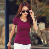 Cotton Female T-shirt