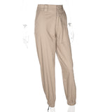 Pants Pencil  High Waist Loose Pocket